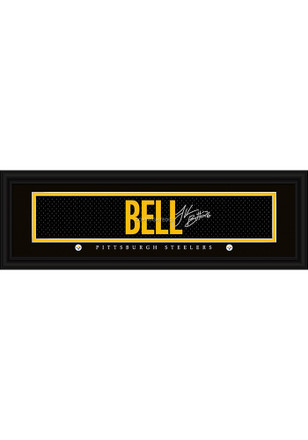Le'Veon Bell Pittsburgh Steelers 8x24 Signature Framed Posters