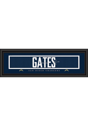 Antonio Gates San Diego Chargers 8x24 Signature Framed Posters