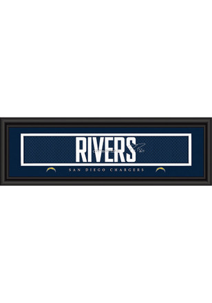 Phillip Rivers San Diego Chargers 8x24 Signature Framed Posters