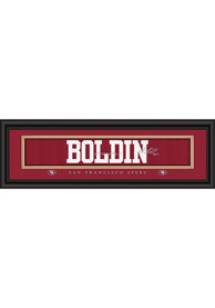 Anquan Boldin San Francisco 49ers 8x24 Signature Framed Posters