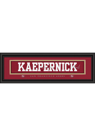 San Francisco 49ers 8x24 Framed Posters