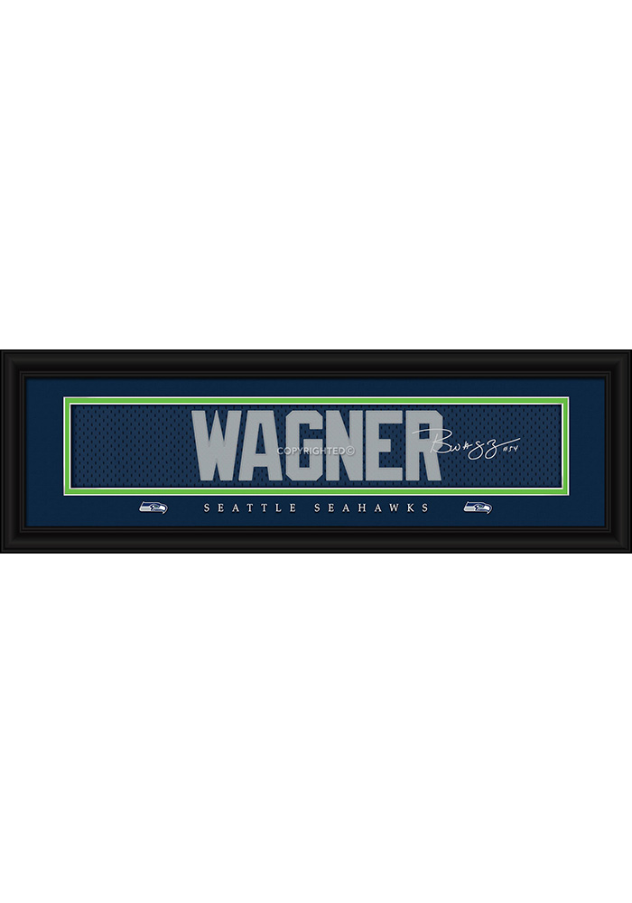 Bobby Wagner Seattle Seahawks 8x24 Signature Framed Posters - Image 1