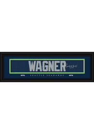 Bobby Wagner Seattle Seahawks 8x24 Signature Framed Posters