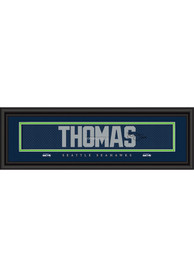 Earl Thomas Seattle Seahawks 8x24 Signature Framed Posters