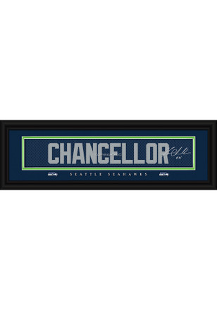 Kam Chancellor Seattle Seahawks 8x24 Signature Framed Posters