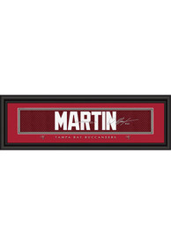 Doug Martin Tampa Bay Buccaneers 8x24 Signature Framed Posters