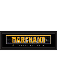 Brad Marchand Boston Bruins 8x24 Signature Framed Posters