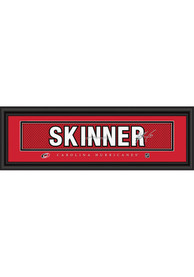 Jeff Skinner Carolina Hurricanes 8x24 Signature Framed Posters