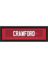 Corey Crawford Chicago Blackhawks 8x24 Signature Framed Posters