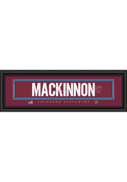Nathan MacKinnon Colorado Avalanche 8x24 Signature Framed Posters