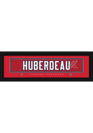 Jonathan Huberdeau Florida Panthers 8x24 Signature Framed Posters