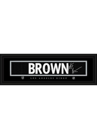 Dustin Brown Los Angeles Kings 8x24 Signature Framed Posters