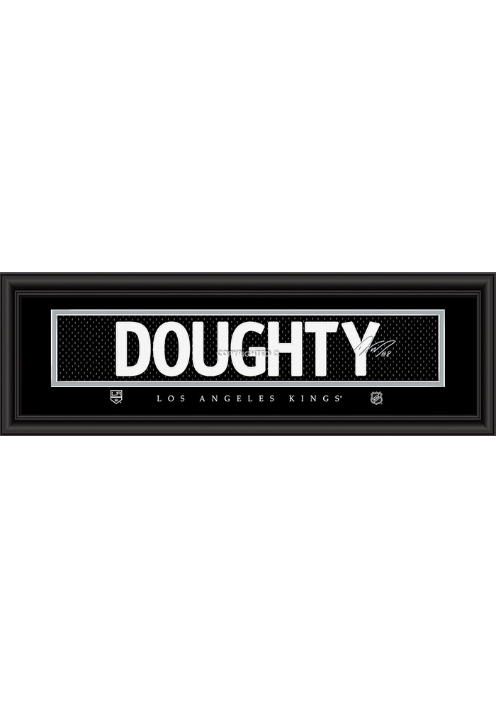 Drew Doughty Los Angeles Kings 8x24 Signature Framed Posters 6541395