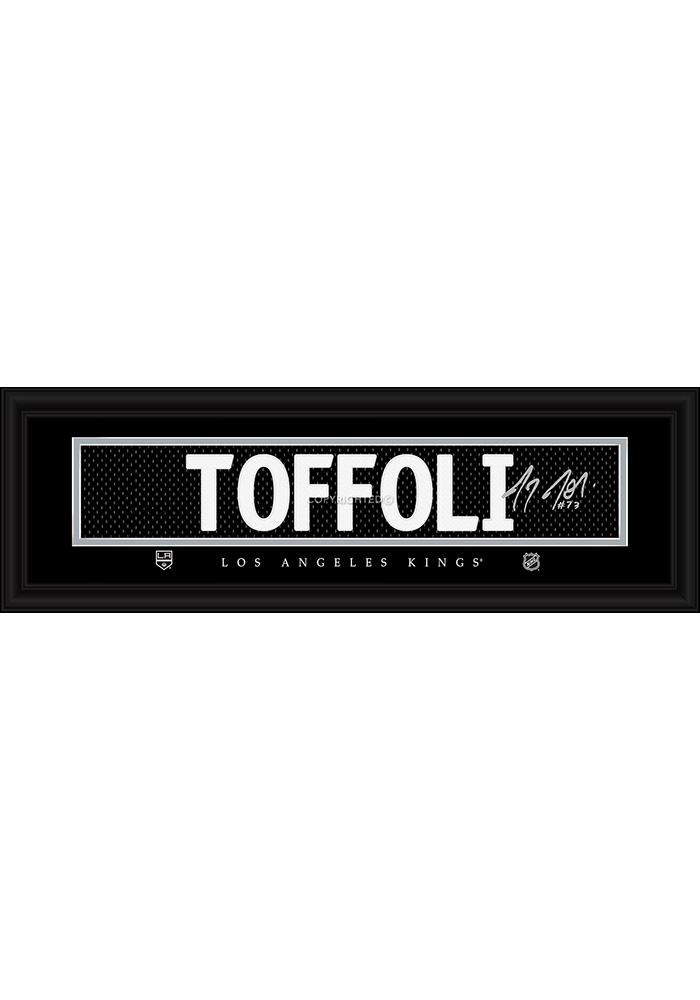 Tyler Toffoli Los Angeles Kings 8x24 Signature Framed Posters - Image 1