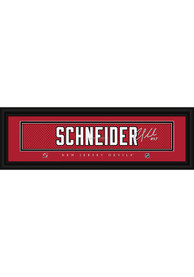 Cory Schneider New Jersey Devils 8x24 Signature Framed Posters