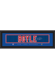 Dan Boyle New York Rangers 8x24 Signature Framed Posters