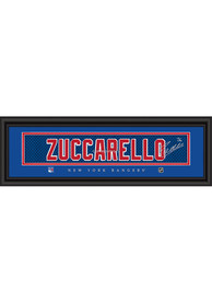 Mats Zuccarello New York Rangers 8x24 Signature Framed Posters