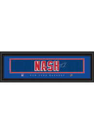 Rick Nash New York Rangers 8x24 Signature Framed Posters