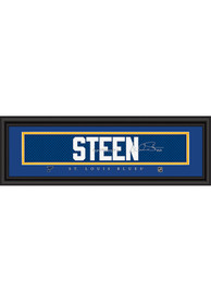Alexander Steen St Louis Blues 8x24 Signature Framed Posters