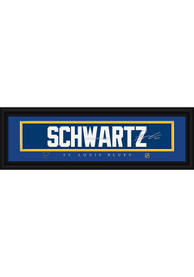 Jaden Schwartz St Louis Blues 8x24 Signature Framed Posters