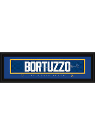 Robert Bortuzzo St Louis Blues 8x24 Signature Framed Posters