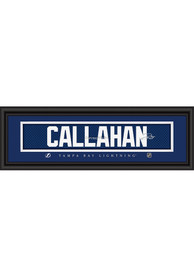 Ryan Callahan Tampa Bay Lightning 8x24 Signature Framed Posters