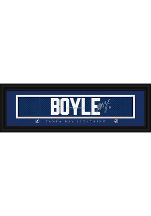 Brian Boyle Tampa Bay Lightning 8x24 Signature Framed Posters
