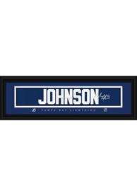 Tyler Johnson Tampa Bay Lightning 8x24 Signature Framed Posters