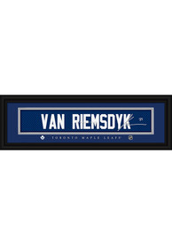 James van Riemsdyk Toronto Maple Leafs 8x24 Signature Framed Posters