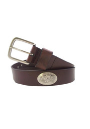 Oklahoma State Cowboys Brown Leather Mens Belt