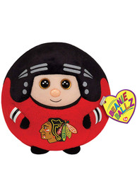 Chicago Blackhawks 5 Beanie Ballz Clip Plush