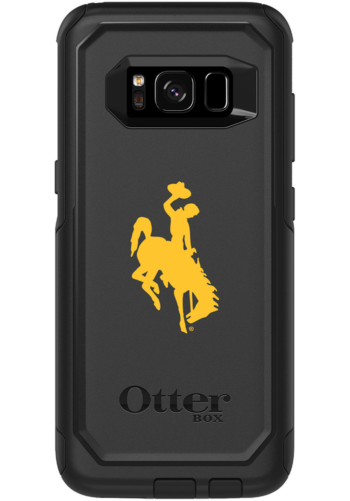 Wyoming Cowboys Galaxy S8 OtterBox Commuter Phone Cover - Image 1