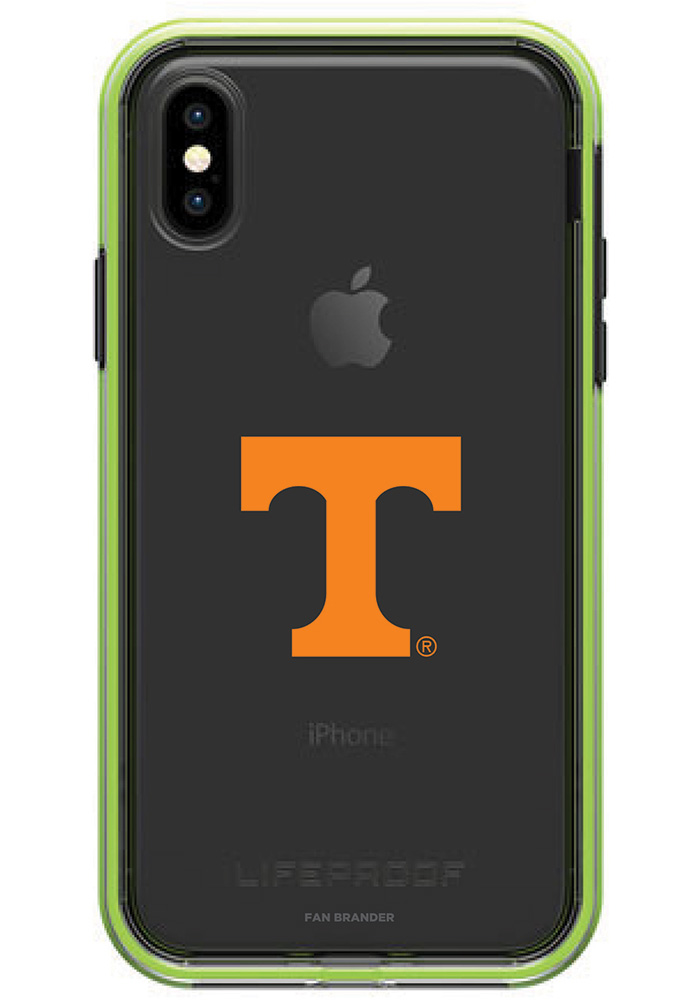 Tennessee Volunteers iPhone X LifeProof SLAM Phone Cover - Image 1
