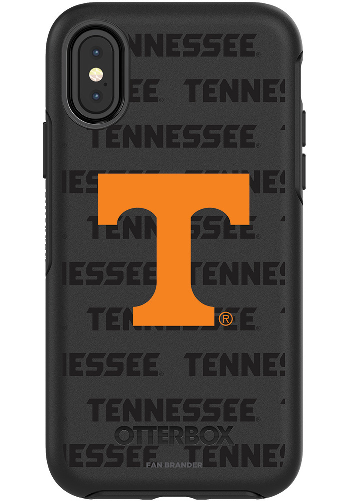 Tennessee Volunteers iPhone X OtterBox Symmetry Phone Cover - Image 1