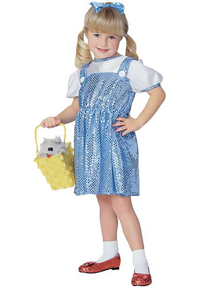 Dorothy Wizard of Oz Gifts Blue Youth Costume