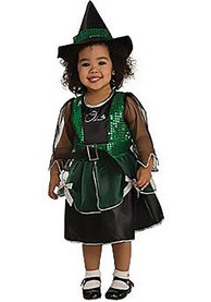 Wizard of Oz Wicked Witch Toddler Costume