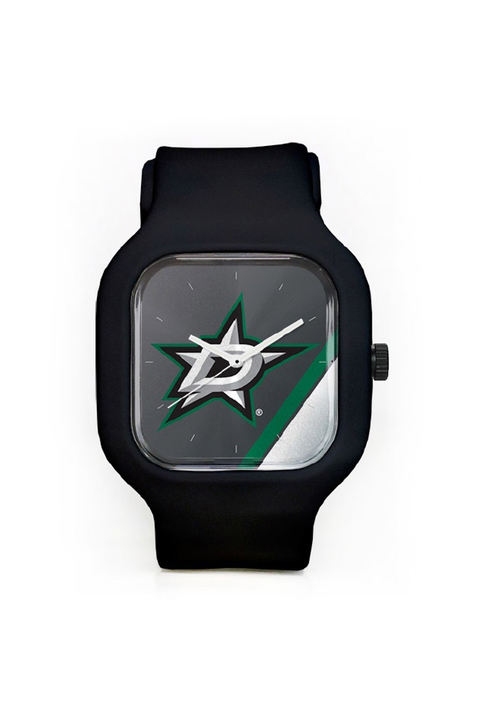 Dallas Stars Team Logo Watch - Black