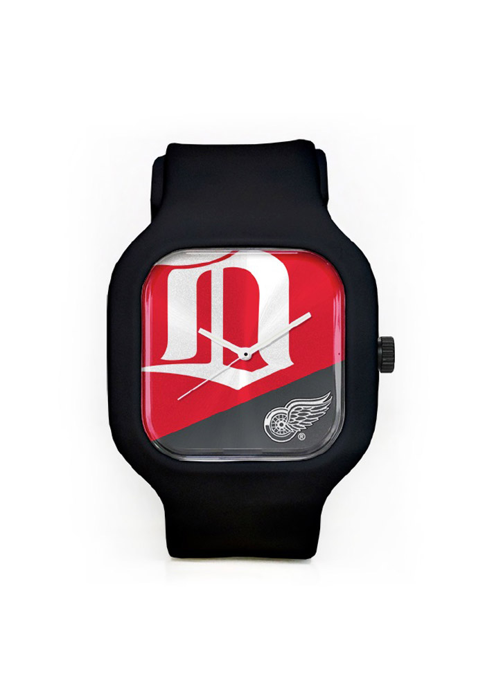 Detroit Red Wings Team Logo Mens Watch - Image 1