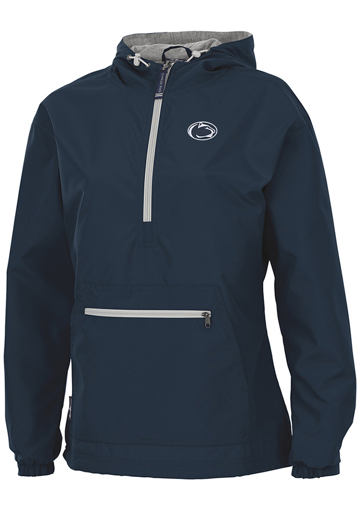 Penn State Nittany Lions Womens Navy Blue Chatham Anorak Light Weight Jacket - Image 1
