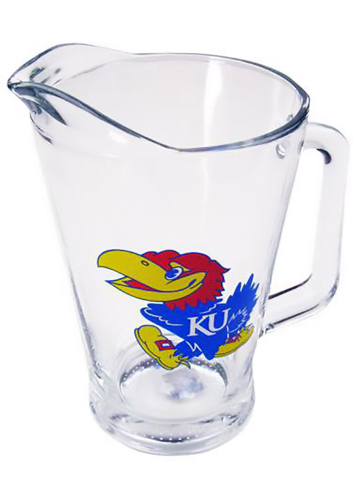 Kansas Jayhawks 60oz Glass Pitcher Pitcher - Image 1