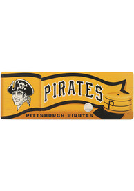 Pittsburgh Pirates Wood Wall Sign