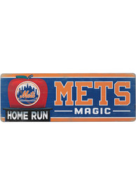 New York Mets Wood Wall Sign