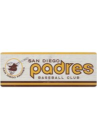 San Diego Padres Wood Wall Sign