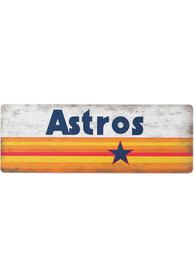 Houston Astros Wood Wall Sign