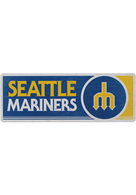 Seattle Mariners Wood Wall Sign