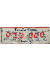 Boston Red Sox Wood Wall Sign