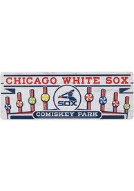 Chicago White Sox Wood Wall Sign