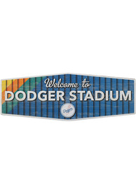 Los Angeles Dodgers Wood Wall Sign