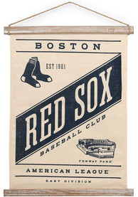 Boston Red Sox Banner Canvas Wall Wall Art
