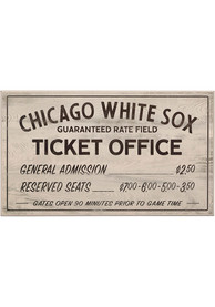 Chicago White Sox Vintage Ticket Office Wall Sign